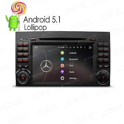 """7"""" Android 5.1 CD DVD DAB+ WiFi Autoradio für Benz A/B Klasse W245 W169 Sprinter"""