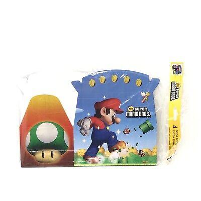 Super Mario Favor Boxes (Super Mario Brothers BIRTHDAY Destination Mario Bros Empty Favor Boxes)