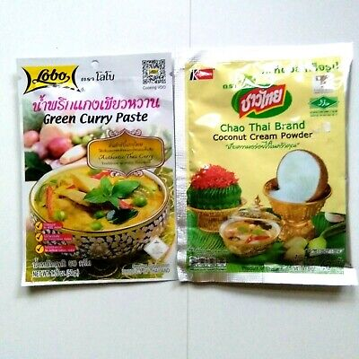 GREEN-CURRY PASTE & COCONUT CREAM POWDER Authentic Thai Curry 1 of  best CNN (Best Cream Of Coconut)