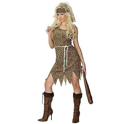 Leopardenmuster Prähistorisch Höhlenfrau Höhlenmädchen Höhlenmensch - Höhle Mädchen Kostüm