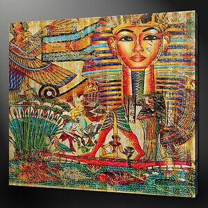 ANCIENT EGYPTIAN CANVAS WALL ART PICTURES PRINTS 12