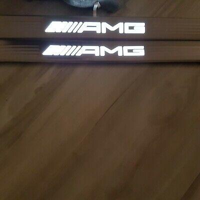 Original AMG Mercedes-Benz Einstiegsleisten Set BELEUCHTET C217 W217 S-Klasse