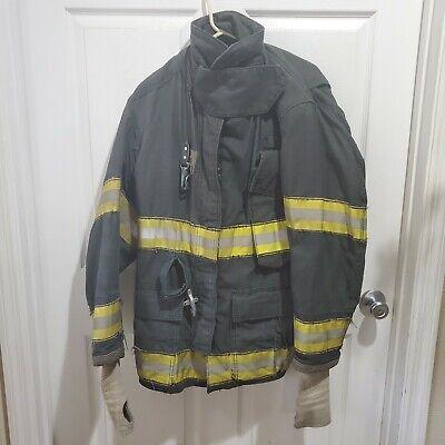 Black Globe Gxtreme Size 36 Firefighter Turnout Jacket Fire 1997 Clementon