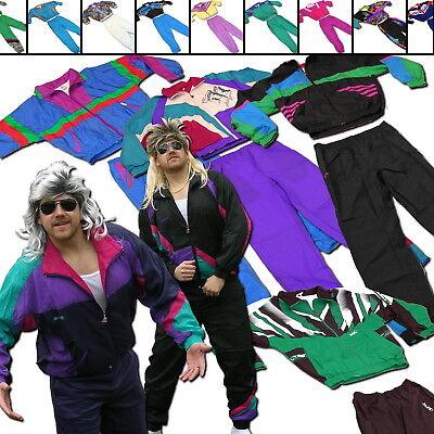 80s Jogginganzug Retro Herren 80er Jahre Trainingsanzug Kleidung Karneval Kostüm