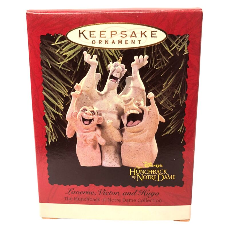 1996 Hallmark Hunchback Of Norte Dame Gargoyles Disney Christmas Ornament