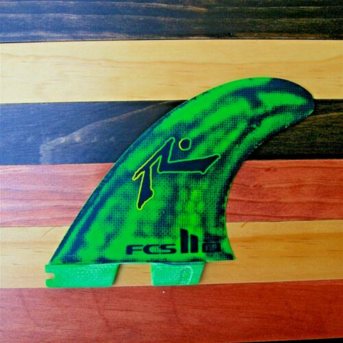 FCS II Rusty Preisendorfer Surfboard 3 Fin Set Performance Core Medium - New