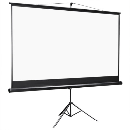 100 Inch 16:9 Projector Projection Screen with Stand Home Theater Movie Consumer Electronics
