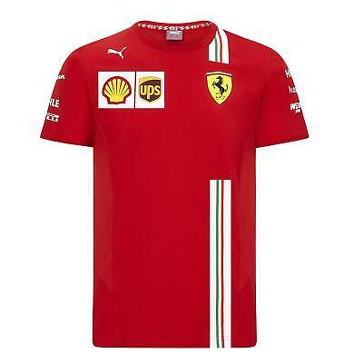 Scuderia Ferrari Men's Puma Replica Team T-Shirt   2020