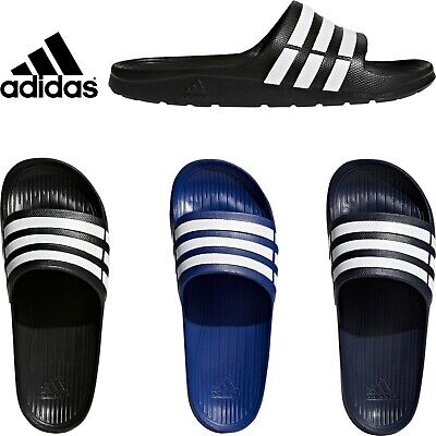 Adidas DURAMO Mens Slippers Pool-Beach Slide Flip-Flops Sandals Shoes Trainers