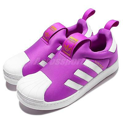15e625233c36 ... adidas Superstar 360 C Purple White Kids Running Shoes Sneakers S32132  ...