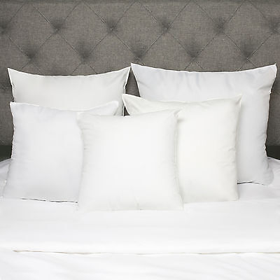 Down Alternative Polyester Square Euro Throw Bed Pillow Inse