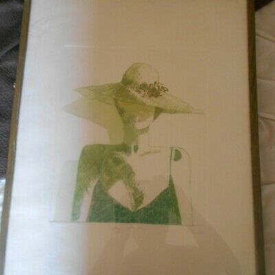 art print, 7/15, including frame, 21 1/2