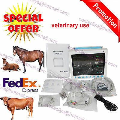 Vet Veterinary Patient Monitor 6 Multiparameter Icu Machine Big Screenus Seller