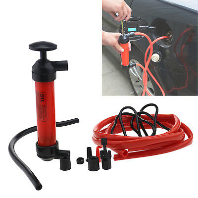 Ed 3 In1 Siphon Water Car Oil Air Pump Extractor Liquid Fuel Transfer Inflator