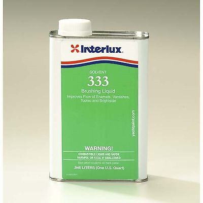 Interlux 333Q Marine Brushing Thinner Quart