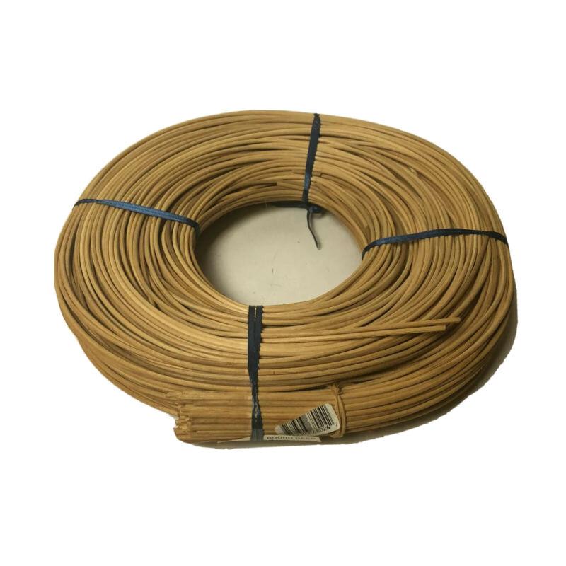 Basket Weaving Making Round Reed  2.75 mm 1lb Beige Natural Wood