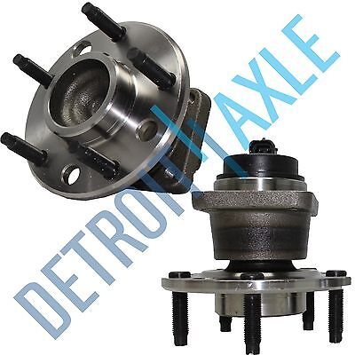 Front Wheel Bearing & Hub Pair w/ABS 1993 - 2002 Chevy Camaro Pontiac Firebird