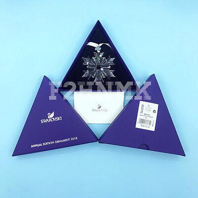 2018 Swarovski Crystal Snowflake Annual Edition Xmas Ornament 5301575
