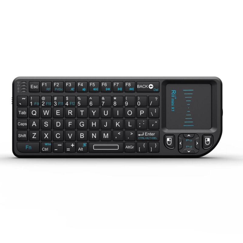 Rii Mini X1 RF Mini Wireless Keyboard Touchpad for PC Smart TV Android TV Box
