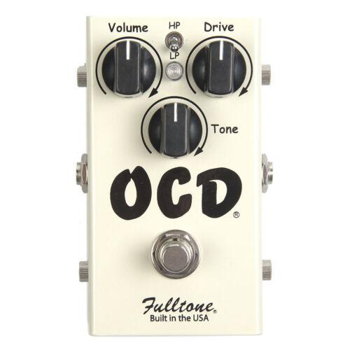 NEW Fulltone OCD Overdrive Distortion PEDAL Obsessive Compulsive Drive Version 2