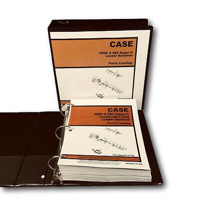 Case 580d Tractor Loader Backhoe Parts Manual Catalog Book Schematics Assembly