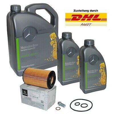 ORIGINAL Mercedes-Benz Motoröl 5W30 MB 229.51 7 Liter mit Ölfilter 6511800109