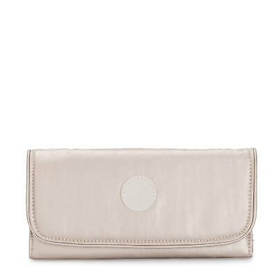 Kipling Money Land Metallic Snap Wallet