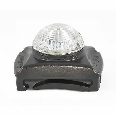 Adventure Lights Guardian Hunting Dog Series White LED Safety Collar Clip Light