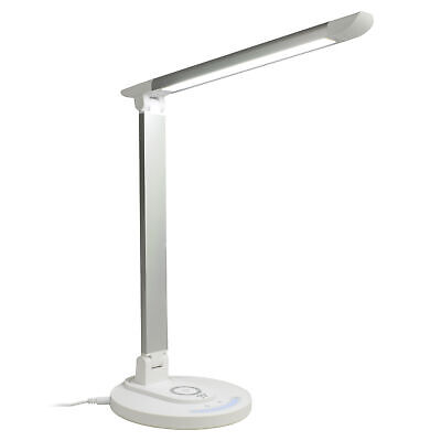 TaoTronics LED Desk Lamp with Wireless Charging iPhone X, 8,