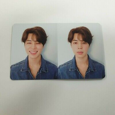 BTS 3rd Love yourself Tear Official JIMIN photocard 1p K-POP Bangtan boys R ver.