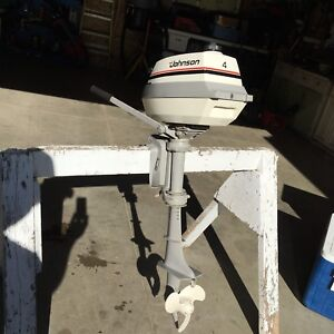 4hp Johnson outboard moter