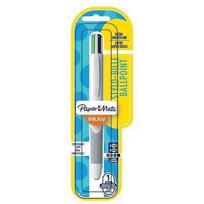 Paper Mate Inkjoy Quatro Retractable Ballpoint Pen Medium Point Business Ink