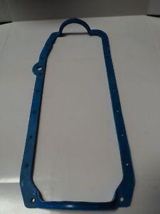 SBC 1 Piece Oil Pan Gasket Blue Pre - 79 Early Fits SB 265 283 327 350 383 400
