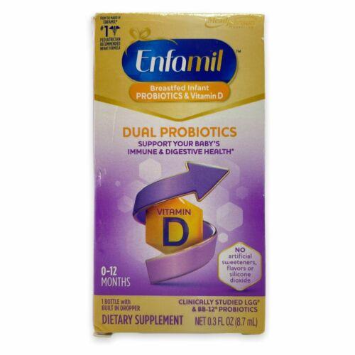 Enfamil Infant Dual Probiotics  0-12 Months .3 fl oz EXP 11/21