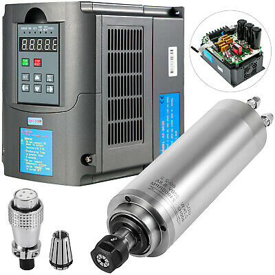 3kw Water-cooled Spindle Motor 13a Variable Frequency Drive Inverter Vfd 220v