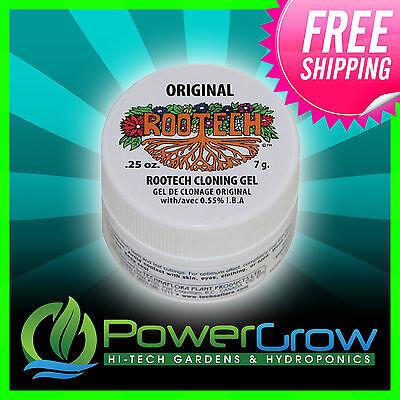 Rootech ® Cloning Gel Rooting Hormone Technaflora Hydroponic 1/4 oz 0.25 Jar