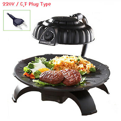 Za-igle Party Electric Barbeque Grill Indoor Far-Infrared Home Griddle ZG-K2011