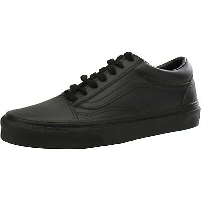 Vans Old Skool Classic Tumble Black Mono Mens Skate Shoes Sizes 9.5 - 10