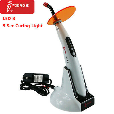 Original Woodpecker Led B Dental Wireless Led Curing Light Lamp 1400mw 5s Curing