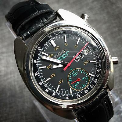 Vintage Seiko Chronograph 6139 Automatic Gents Watch, Perfect, Japan