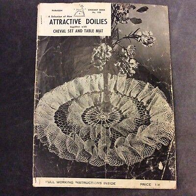 Винтажные Paragon Crochet Book 108 -