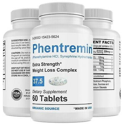 Phentremin® Extra Strength Weight Control Complex Appetite Suppressant 37.5 Pill