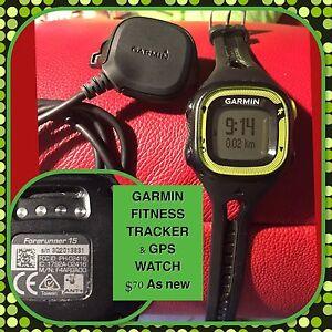 GARMIN FORERUNNER 15 Gps & fitness tracker unused $50 Tenambit Maitland Area Preview