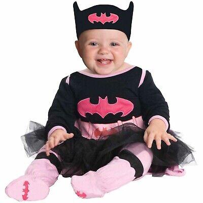Infant Batgirl Halloween Costumes (DC Comics Batgirl Infant Tutu Halloween Costume Size 0-6)