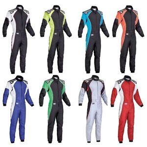 OMP KS-3 Kart/Karting Race/Racing Suit-CIK-FIA Level 2 Approved