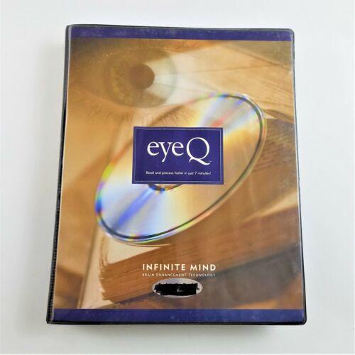 EyeQ Infinite Mind Brain Enhancement Technology CD-Roms DVD & 2 Books
