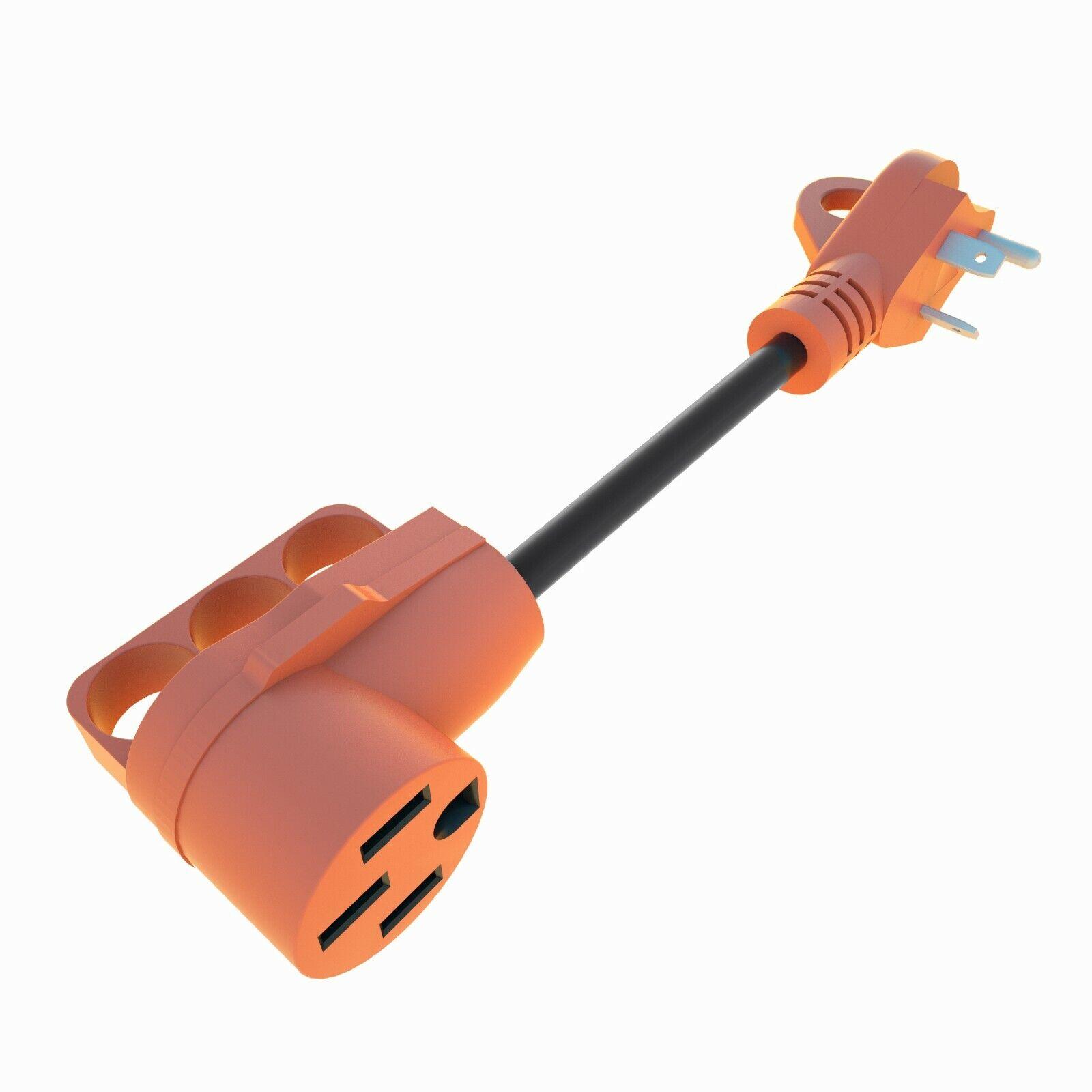 30 Amp Male to 50 Amp Female Dogbone Adapter RV Camper Electrical Converter Cord eBay Motors
