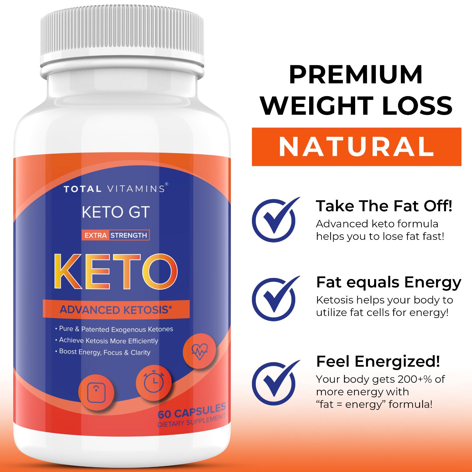 Keto GT Advanced Weight Loss 800mg Ultra Fast Keto Diet Pill