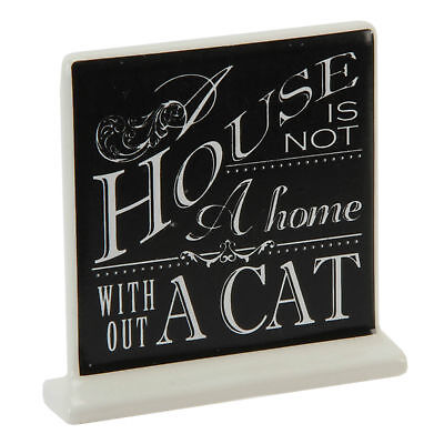 Best Of Breed A House Is Not A Home Without A Cat Pets Ceramic Plaque (Best Pet Cat Breeds)