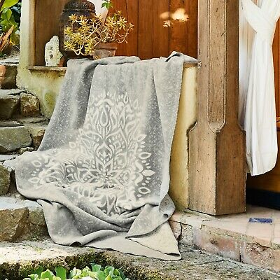IBENA Reversible Mandala Denpasar Throw